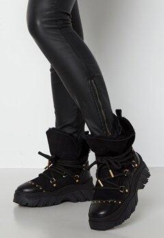 INUIKII Trekking Plain Sneaker 201 Black bubbleroom.se
