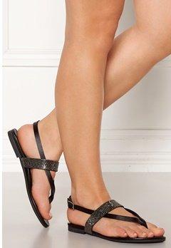 INUOVO 101009 Leather Sandals Black Bubbleroom.se