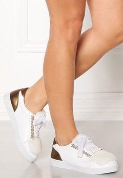 INUOVO Florens Leather Sneakers Napa White Bubbleroom.se