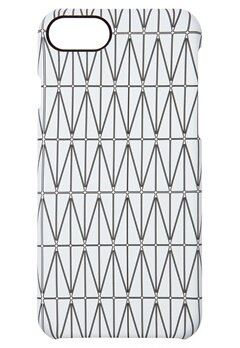 DAGMAR Iphone 7  Case Grid White Bubbleroom.se