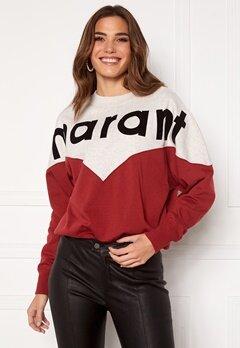Isabel Marant Houston Sweater 80GR Grenat Bubbleroom.se