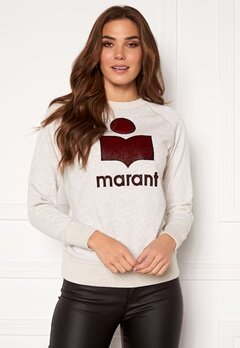 Isabel Marant Milly Sweater Ecru/Wine Bubbleroom.se