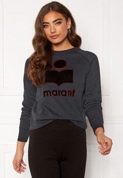 Isabel Marant Milly Sweater Faded Black Bubbleroom.se