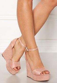 Krush Iso High Heel Sandals Blush Bubbleroom.se