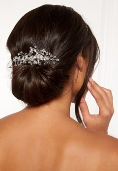 Ivory & Co Medium Crystal Comb Silver Crystal Bubbleroom.se