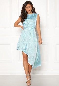 Ivyrevel Asymmetric Dress Light Blue Croco Bubbleroom.se