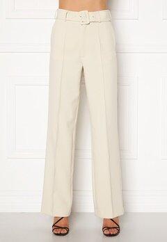 Ivyrevel Belted Suit Pants Off White Bubbleroom.se