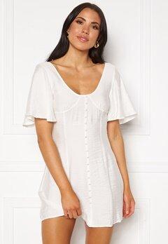 Ivyrevel Button Up Croset Dress White Bubbleroom.se