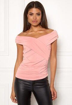 Ivyrevel Cross Front Top Blush Bubbleroom.se