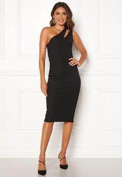 Ivyrevel Cutout One Shoulder Dress Black Bubbleroom.se