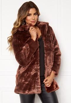Ivyrevel Faux Fur Jacket Brown Bubbleroom.se