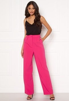 Ivyrevel Front Pleated Wide Pants Pink Bubbleroom.se