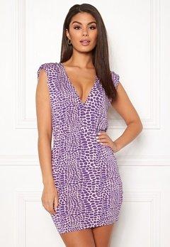 Ivyrevel Sharp Shoulder Mini Dress Light Pink Bubbleroom.se