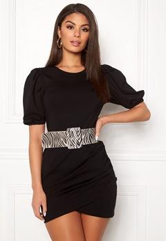 Ivyrevel Short Puff Sleeve Dress Black Bubbleroom.se