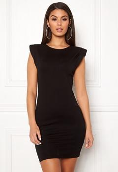 Ivyrevel Shoulder Pad Mini Dress Black Bubbleroom.se