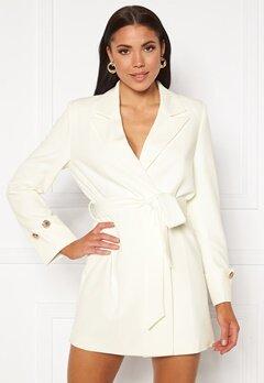 Ivyrevel Tied Waist Blazer Dress Off White Bubbleroom.se