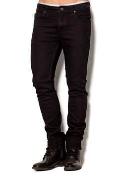 JACK&JONES Ben Org SC 616 Black Denim Bubbleroom.se