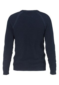 JACK&JONES Houston Knit Crew Neck Navy Blazer Bubbleroom.se