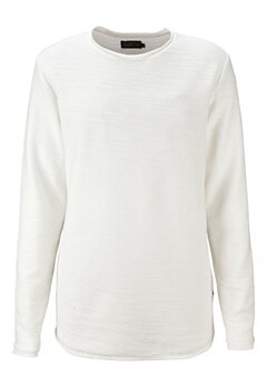 JACK&JONES Raw Sweat Crew Neck Cloud Dancer Bubbleroom.se