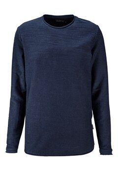JACK&JONES Raw Sweat Crew Neck Navy Blazer Bubbleroom.se