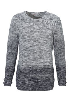 JACK&JONES Swing Knit Crew Neck Cloud Dancer Bubbleroom.se