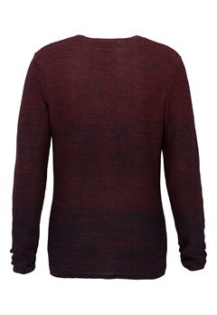 JACK&JONES Swing Knit Crew Neck Syrah Bubbleroom.se