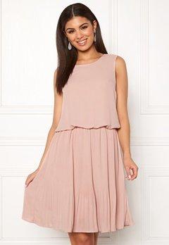 VERO MODA Jackie SL Short Dress Misty Rose Bubbleroom.se