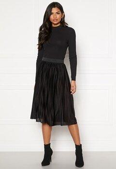 Jacqueline de Yong Aboa Skirt Black Bubbleroom.se