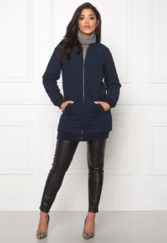 Jacqueline de Yong Alisha quilted coat Sky captain Bubbleroom.fi
