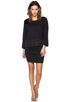 Jacqueline de Yong Benefit 4/4 Lace Top Black Bubbleroom.no