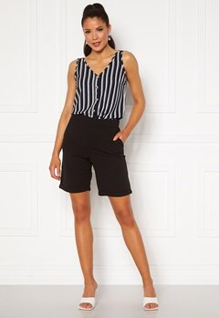 Jacqueline de Yong Catia Treats Shorts Black Bubbleroom.se