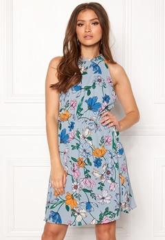 Jacqueline de Yong Chili S/L Dress Dusty Blue Bubbleroom.se
