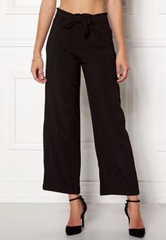 Jacqueline de Yong Chung Wide Pant Black/Stripes Bubbleroom.se