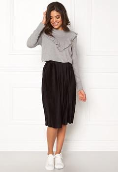 Jacqueline de Yong Dice Skirt Black Bubbleroom.dk