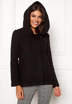 Jacqueline de Yong Eva Wool Jacket Black Bubbleroom.se