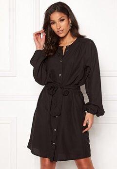 Jacqueline de Yong Evelyn L/S Dress Black Bubbleroom.se