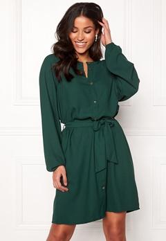 Jacqueline de Yong Evelyn L/S Dress Ponderosa Pine Bubbleroom.se
