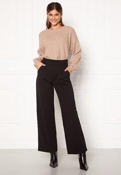 Jacqueline de Yong Geggo New Long Pants Black Bubbleroom.se