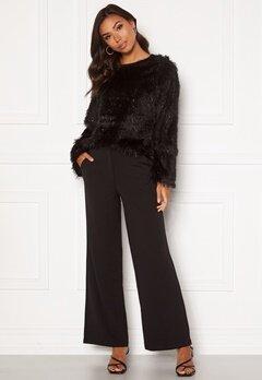 Jacqueline de Yong Giselle Wide Pants Black Bubbleroom.se