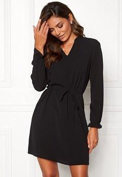 Jacqueline de Yong Gorgeous L/S Dress Black Bubbleroom.se
