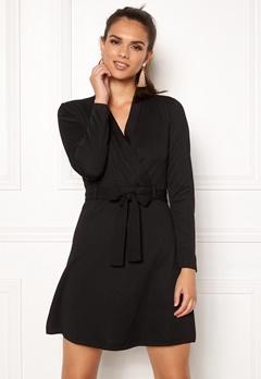 Jacqueline de Yong Honey L/S Dress Black Bubbleroom.se