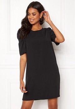 Jacqueline de Yong Ingrid 2/4 Short Dress Black Bubbleroom.se
