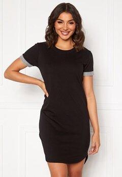 Jacqueline de Yong Ivy Life S/S Dress Black Bubbleroom.se