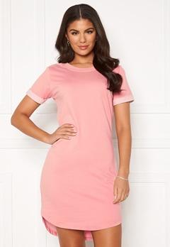 Jacqueline de Yong Ivy Life S/S Dress Mellow Rose Bubbleroom.se