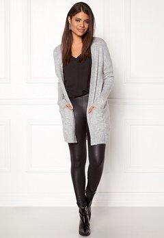 Jacqueline de Yong JDYGold Cardigan Knit Light Grey Melange Bubbleroom.no