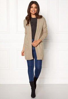 Jacqueline de Yong JDYGold Cardigan Knit Simply Taupe Bubbleroom.se