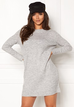 Jacqueline de Yong JDYGold Dress Knit Light Grey Melange Bubbleroom.fi