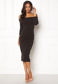 Jacqueline de Yong Kenya 3/4 Dress Black Bubbleroom.se