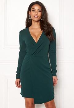 Jacqueline de Yong Lauren L/S Dress Ponderosa Pine Bubbleroom.se