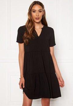 Jacqueline de Yong Lion S/S Layer Dress Black Bubbleroom.se